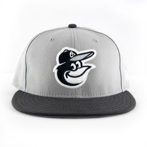 New Era Baltimore Orioles MLB 2T Gray 59FIFTY Hat